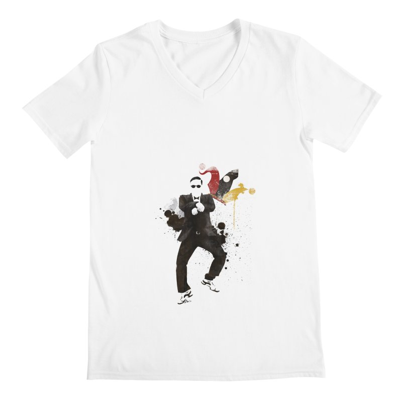 Joker Men's V-Neck by Stuff, By Alan Bao