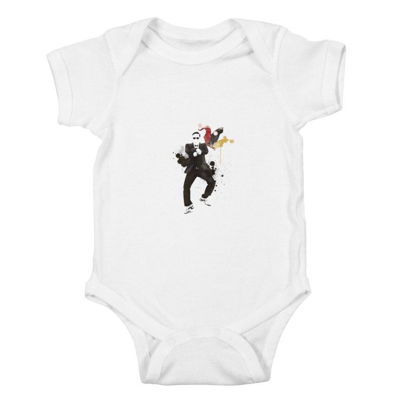 Joker Kids Baby Bodysuit by Stuff, By Alan Bao