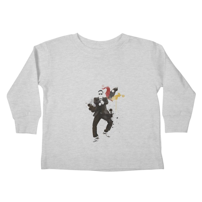 Joker Kids Toddler Longsleeve T-Shirt by Stuff, By Alan Bao