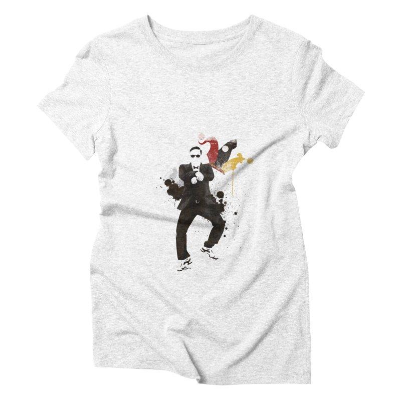 Joker Women's Triblend T-shirt by Stuff, By Alan Bao