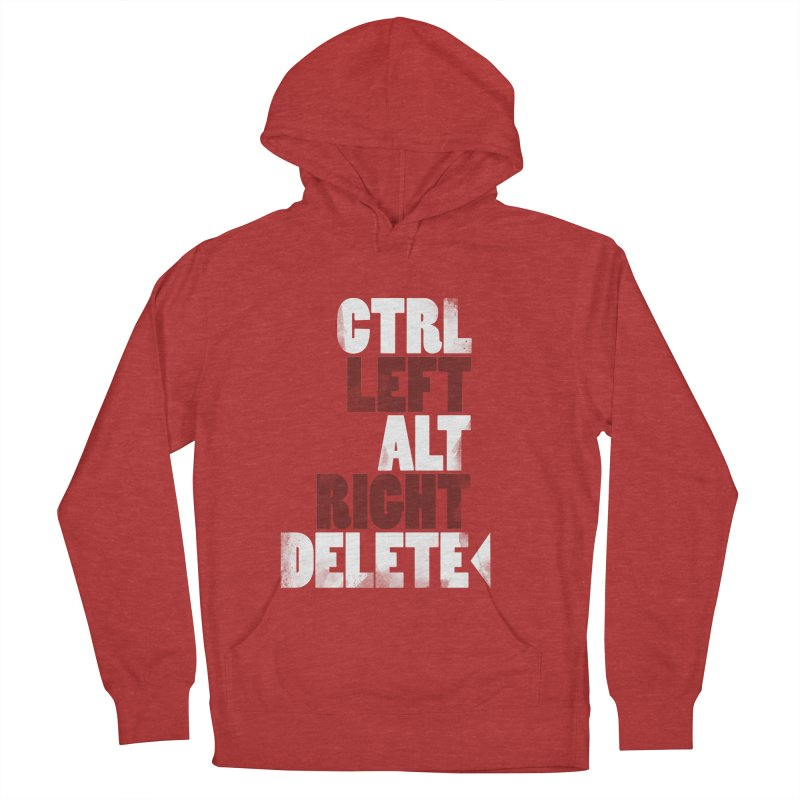 Ctrl-Left Alt-Right Delete Men's Pullover Hoody by Stuff, By Alan Bao