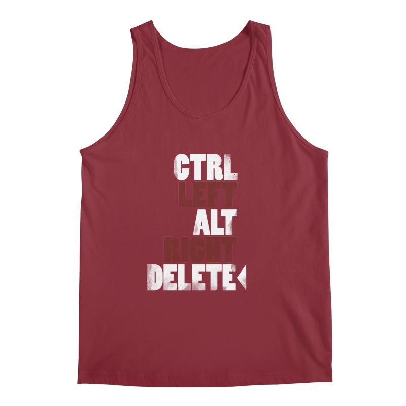 Ctrl-Left Alt-Right Delete Men's Tank by Stuff, By Alan Bao