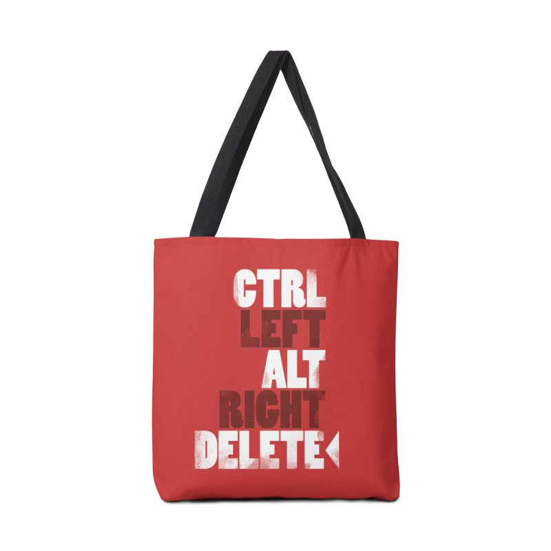 Ctrl-Left Alt-Right Delete Accessories Bag by Stuff, By Alan Bao