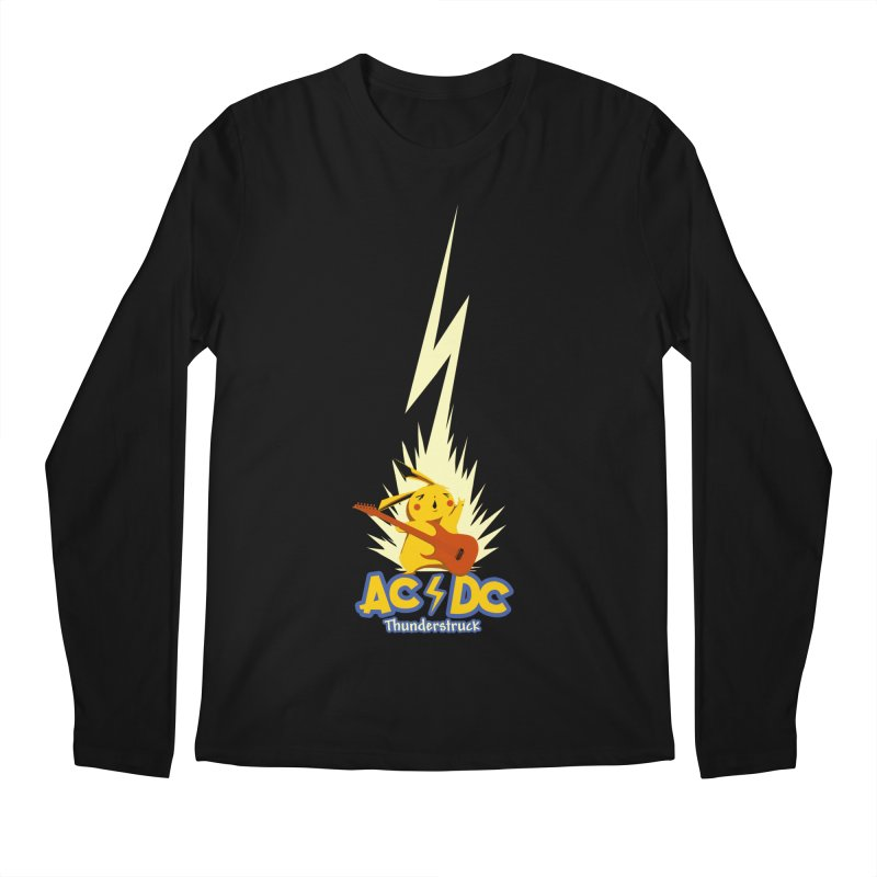Thunderstruck Men's Longsleeve T-Shirt by Stuff, By Alan Bao