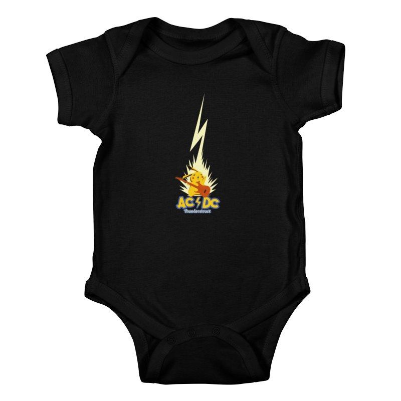 Thunderstruck Kids Baby Bodysuit by Stuff, By Alan Bao