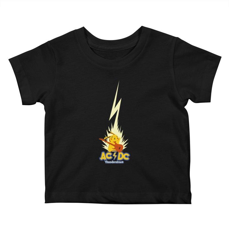 Thunderstruck Kids Baby T-Shirt by Stuff, By Alan Bao