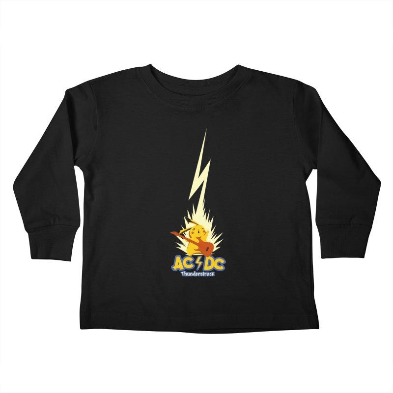 Thunderstruck Kids Toddler Longsleeve T-Shirt by Stuff, By Alan Bao