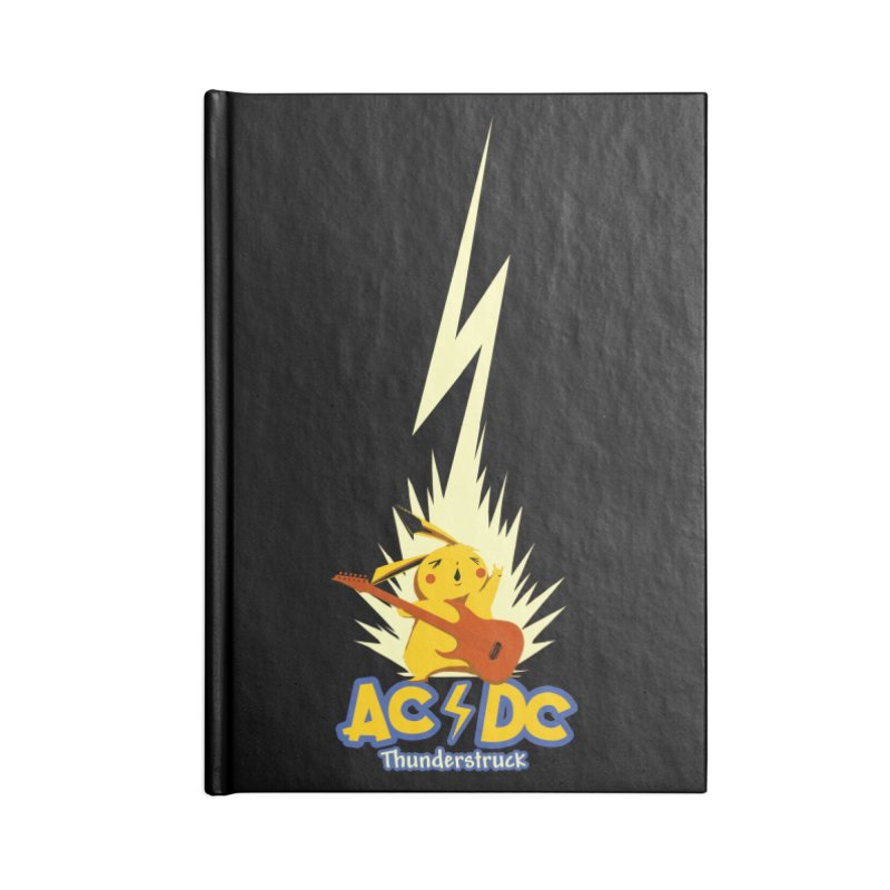 Thunderstruck Accessories Notebook by Stuff, By Alan Bao