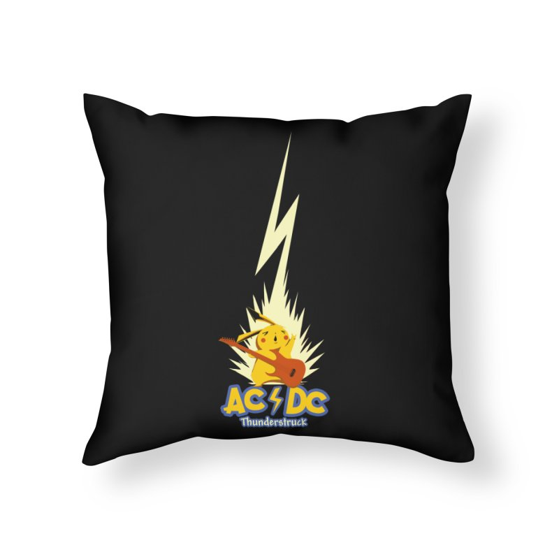 Thunderstruck Home Throw Pillow by Stuff, By Alan Bao