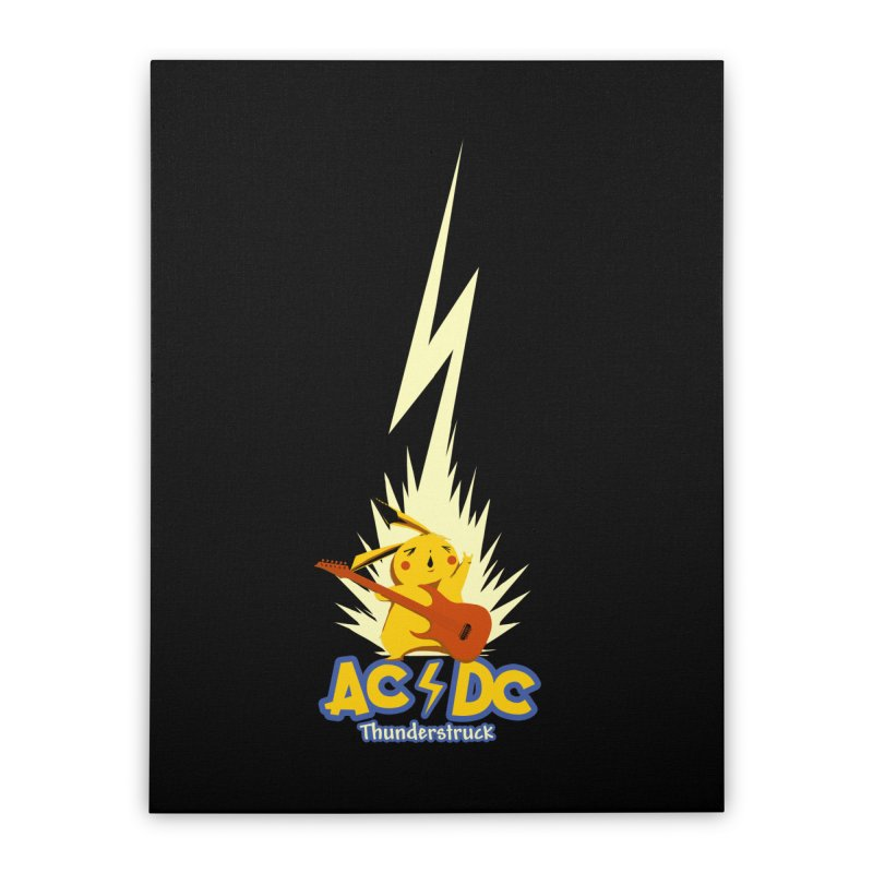 Thunderstruck Home Stretched Canvas by Stuff, By Alan Bao
