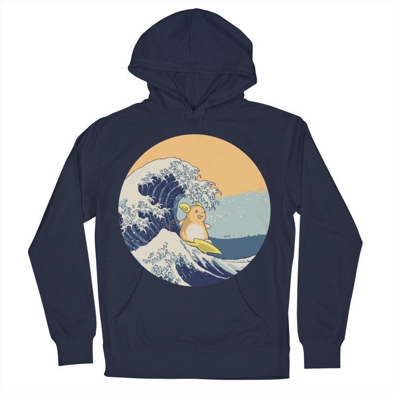Surfin' Kanagawa Men's Pullover Hoody by Stuff, By Alan Bao