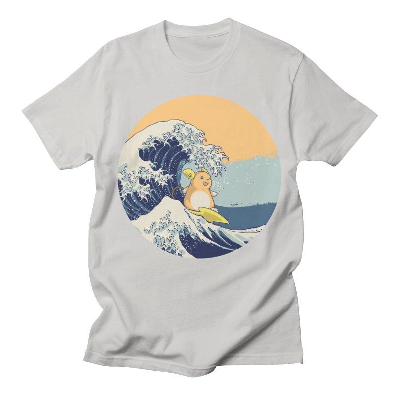 Surfin' Kanagawa Women's Unisex T-Shirt by Stuff, By Alan Bao