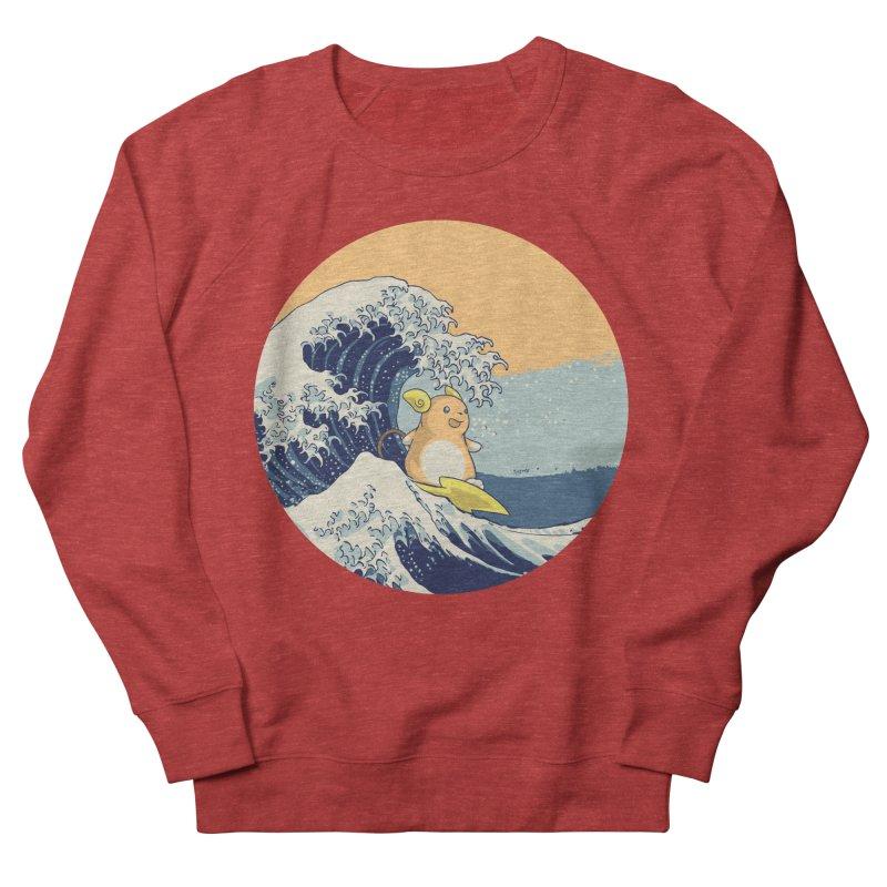 Surfin' Kanagawa Women's Sweatshirt by Stuff, By Alan Bao