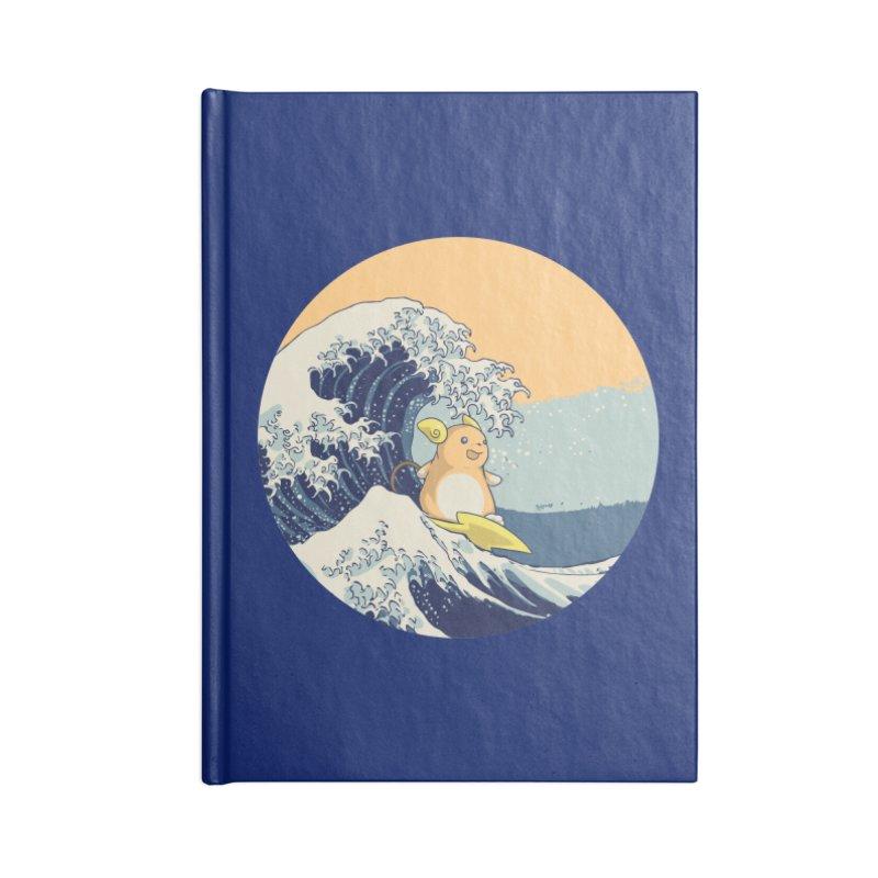 Surfin' Kanagawa Accessories Notebook by Stuff, By Alan Bao