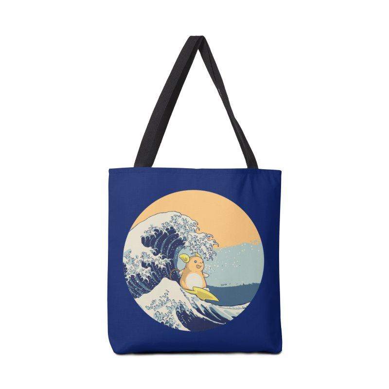 Surfin' Kanagawa Accessories Bag by Stuff, By Alan Bao
