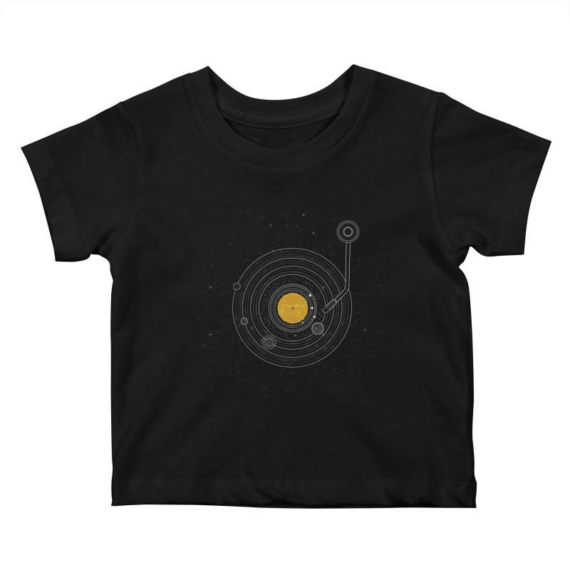 Cosmic Symphony Kids Baby T-Shirt by Stuff, By Alan Bao