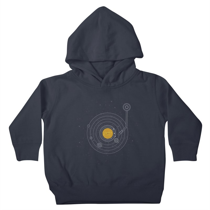 Cosmic Symphony Kids Toddler Pullover Hoody by Stuff, By Alan Bao