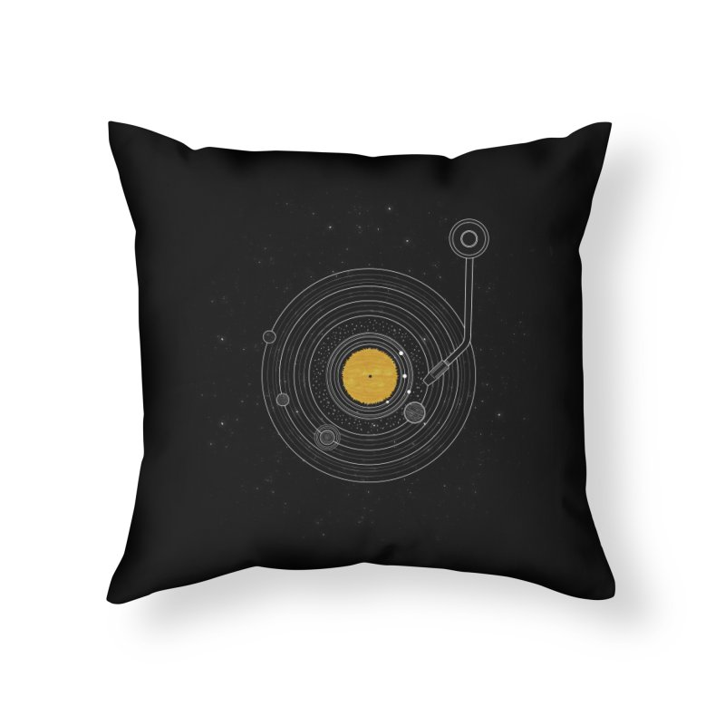 Cosmic Symphony Home Throw Pillow by Stuff, By Alan Bao