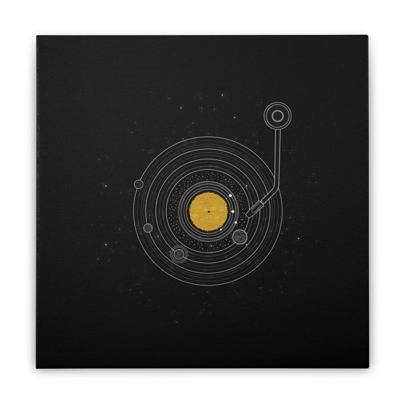 Cosmic Symphony Home Stretched Canvas by Stuff, By Alan Bao