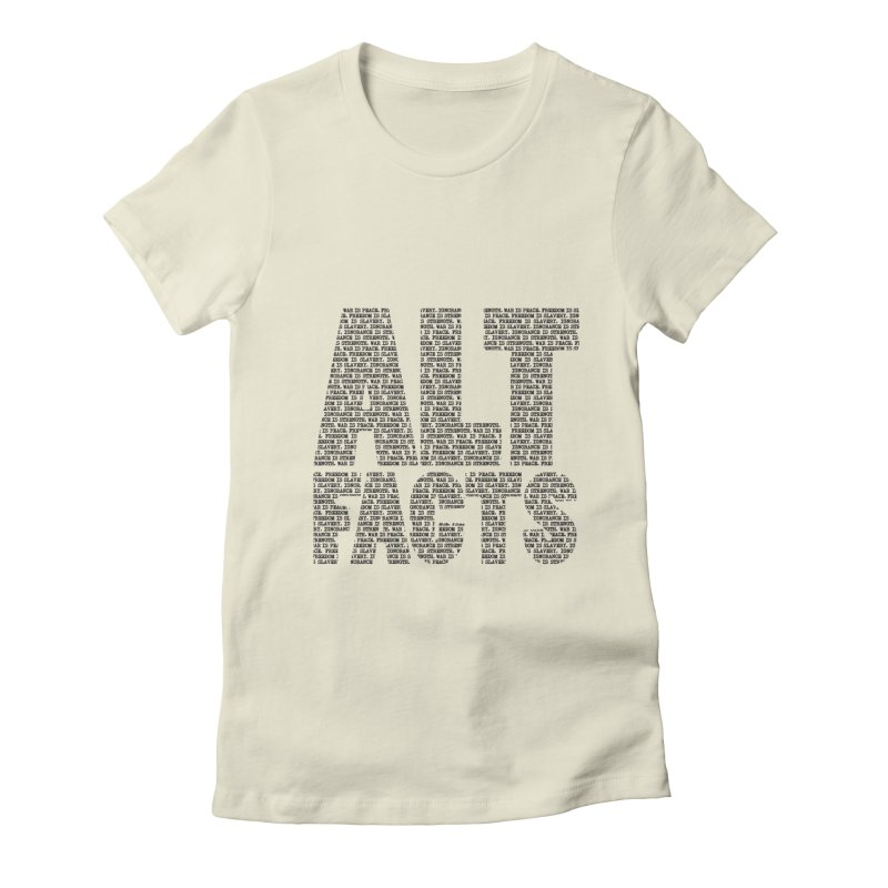 Alternative Facts Women's Fitted T-Shirt by Stuff, By Alan Bao