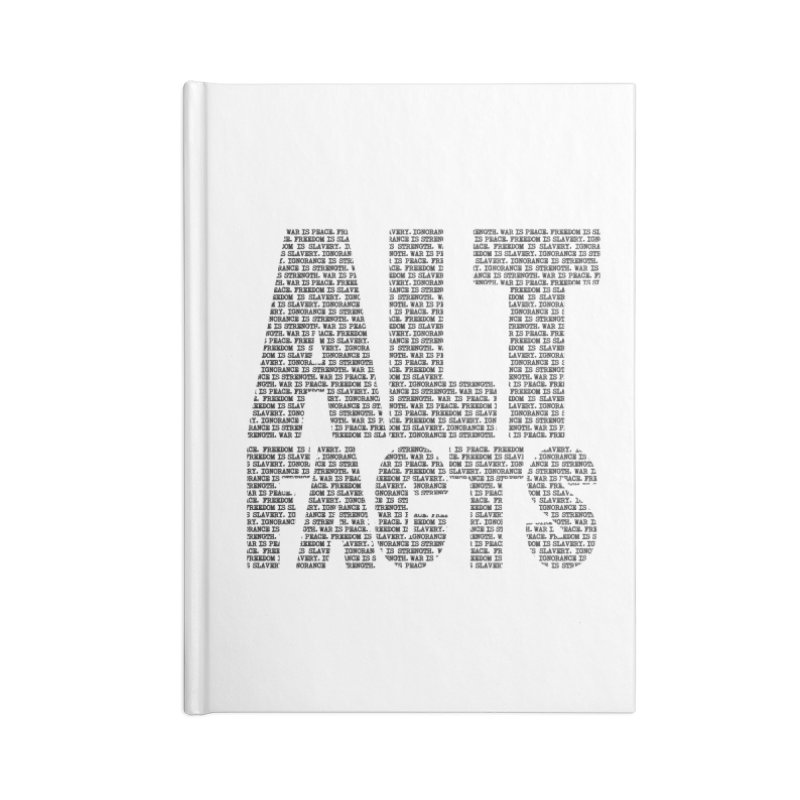 Alternative Facts Accessories Notebook by Stuff, By Alan Bao