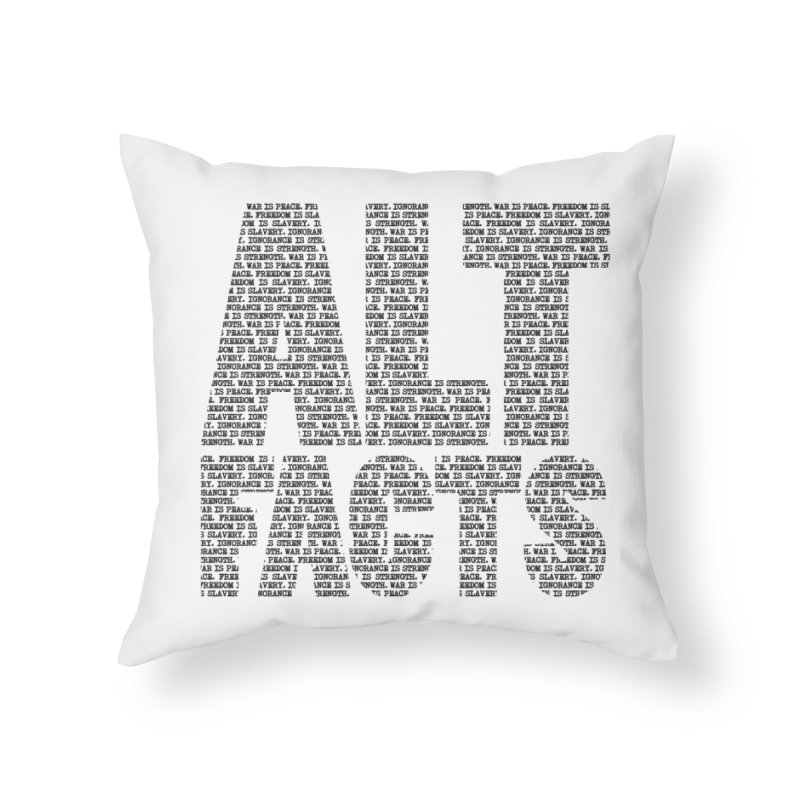 Alternative Facts Home Throw Pillow by Stuff, By Alan Bao