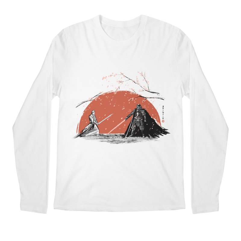 Sakura Showdown Men's Longsleeve T-Shirt by Stuff, By Alan Bao