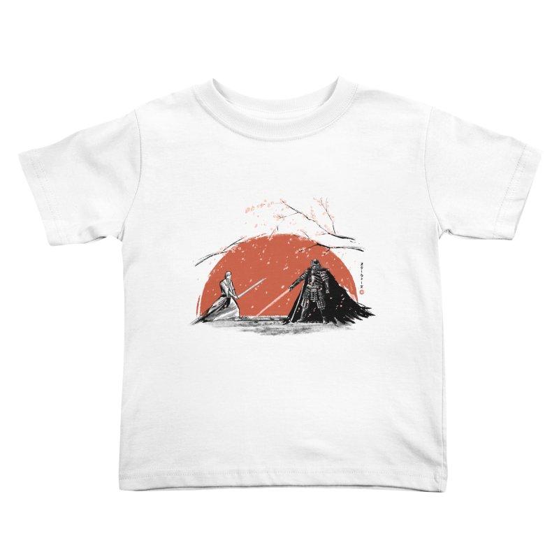Sakura Showdown Kids Toddler T-Shirt by Stuff, By Alan Bao