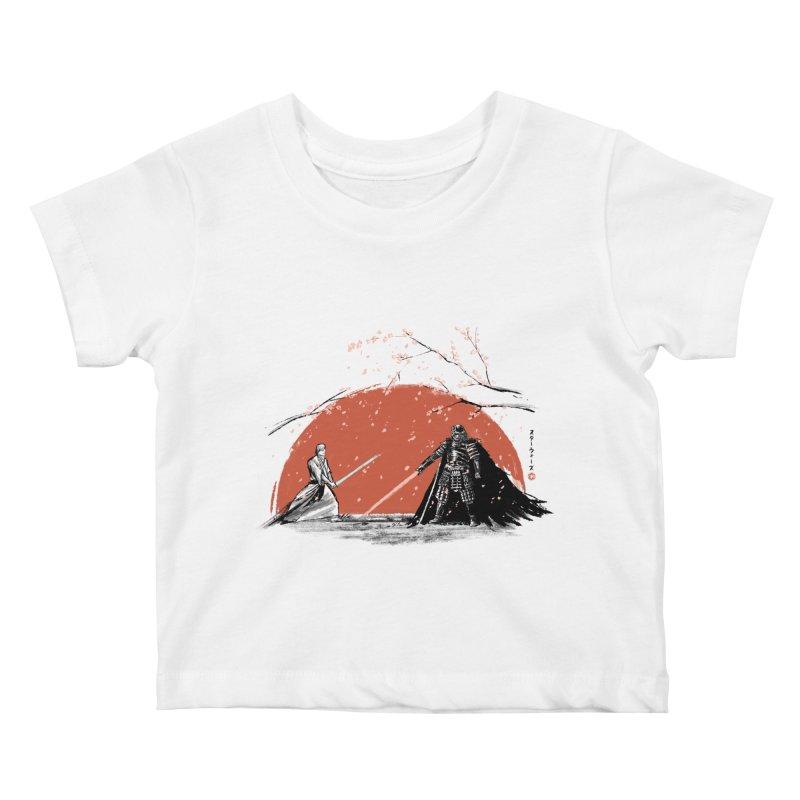 Sakura Showdown Kids Baby T-Shirt by Stuff, By Alan Bao