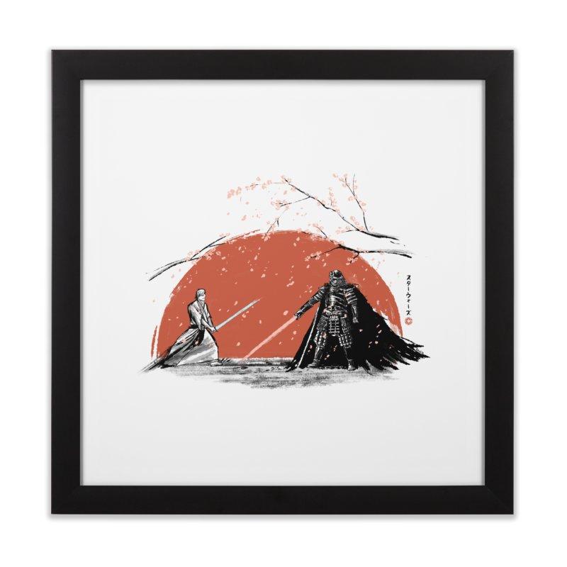Sakura Showdown Home Framed Fine Art Print by Stuff, By Alan Bao