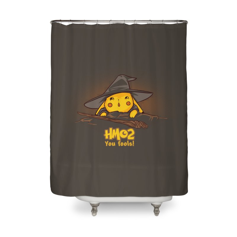 Fly, You Fools! Home Shower Curtain by Stuff, By Alan Bao