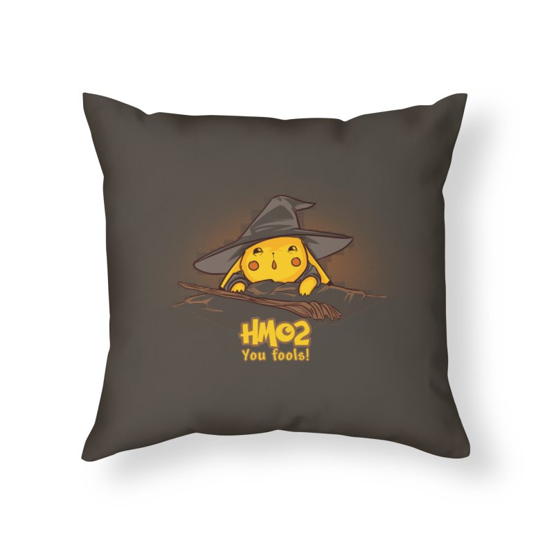 Fly, You Fools! Home Throw Pillow by Stuff, By Alan Bao
