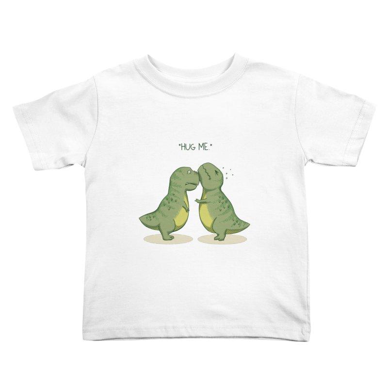 Hug Me Kids Toddler T-Shirt by Stuff, By Alan Bao