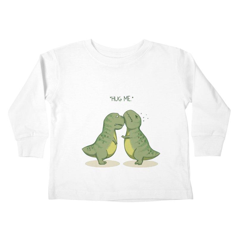 Hug Me Kids Toddler Longsleeve T-Shirt by Stuff, By Alan Bao
