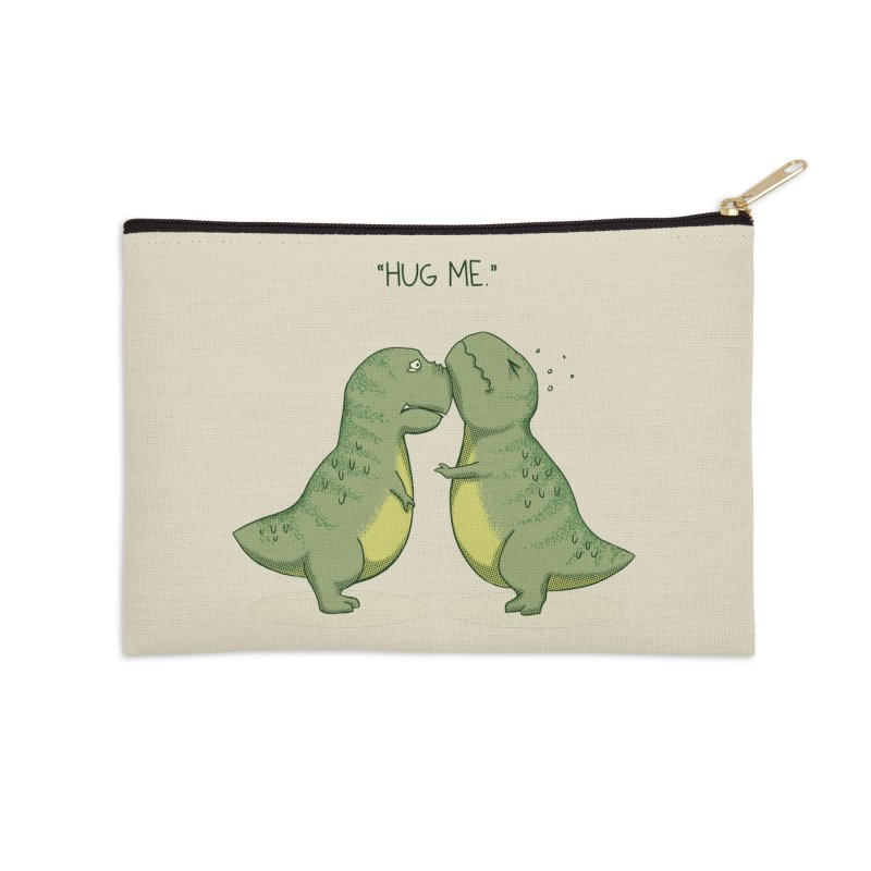 Hug Me Accessories Zip Pouch by Stuff, By Alan Bao