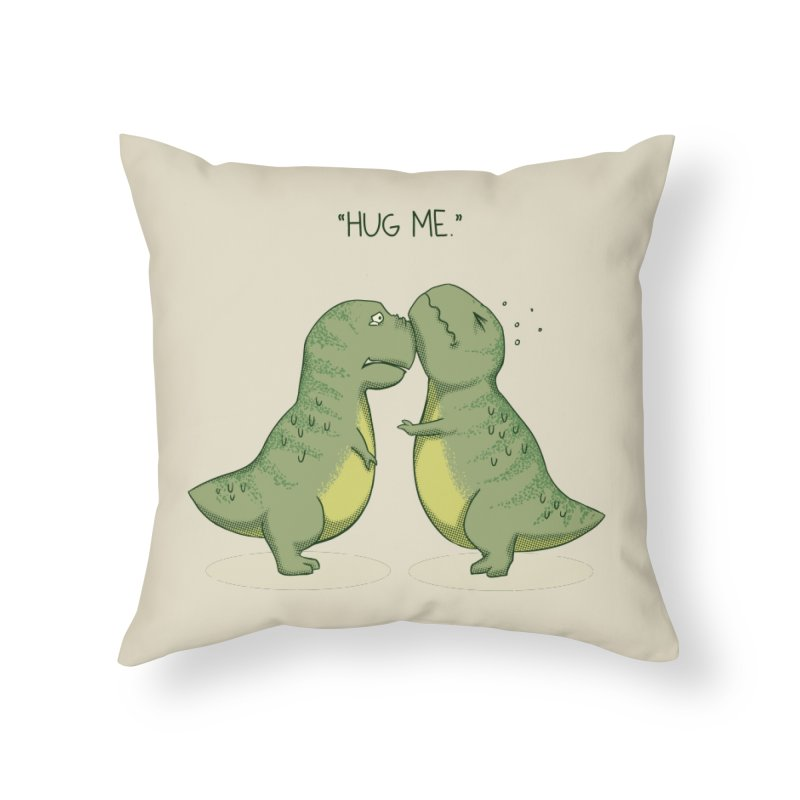 Hug Me Home Throw Pillow by Stuff, By Alan Bao