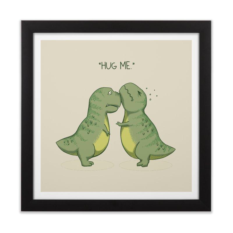 Hug Me Home Framed Fine Art Print by Stuff, By Alan Bao