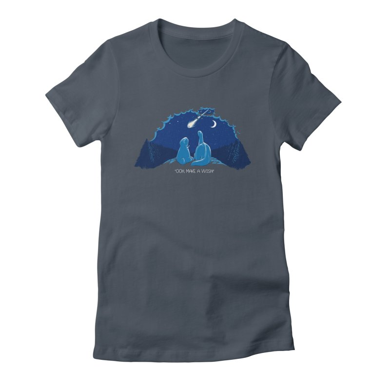 Tragic Stargazers Women's Fitted T-Shirt by Stuff, By Alan Bao