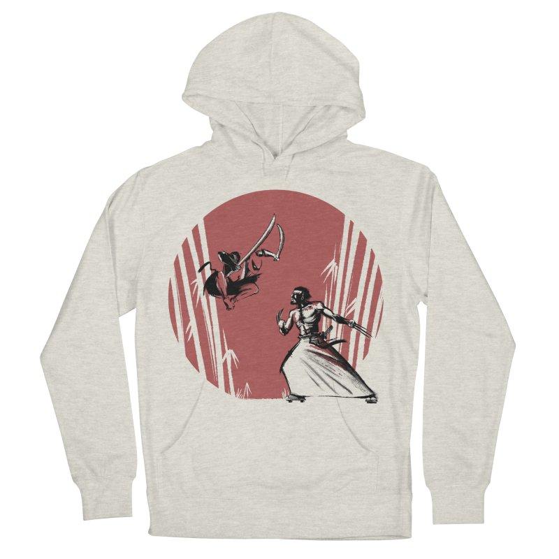 Mouthy Ninja vs Immortal Samurai Men's Pullover Hoody by Stuff, By Alan Bao