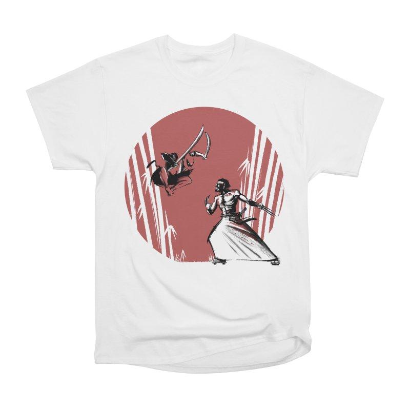 Mouthy Ninja vs Immortal Samurai Men's Classic T-Shirt by Stuff, By Alan Bao