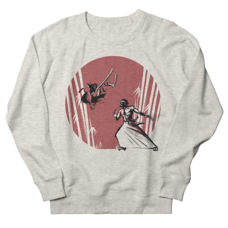 Mouthy Ninja vs Immortal Samurai Men's Sweatshirt by Stuff, By Alan Bao
