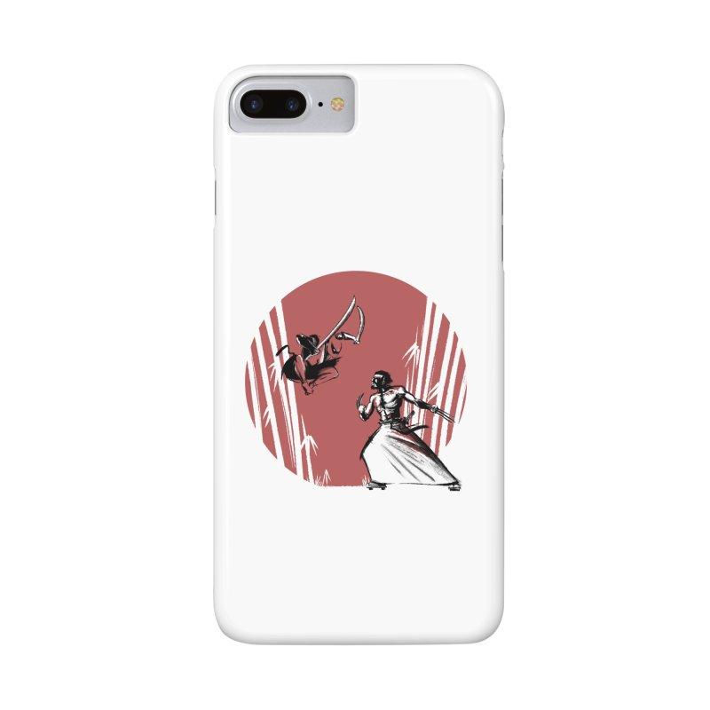 Mouthy Ninja vs Immortal Samurai Accessories Phone Case by Stuff, By Alan Bao