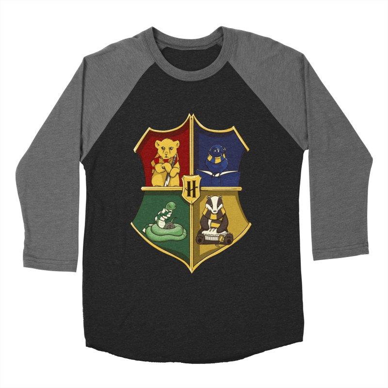 Magical Crest Women's Baseball Triblend T-Shirt by Stuff, By Alan Bao