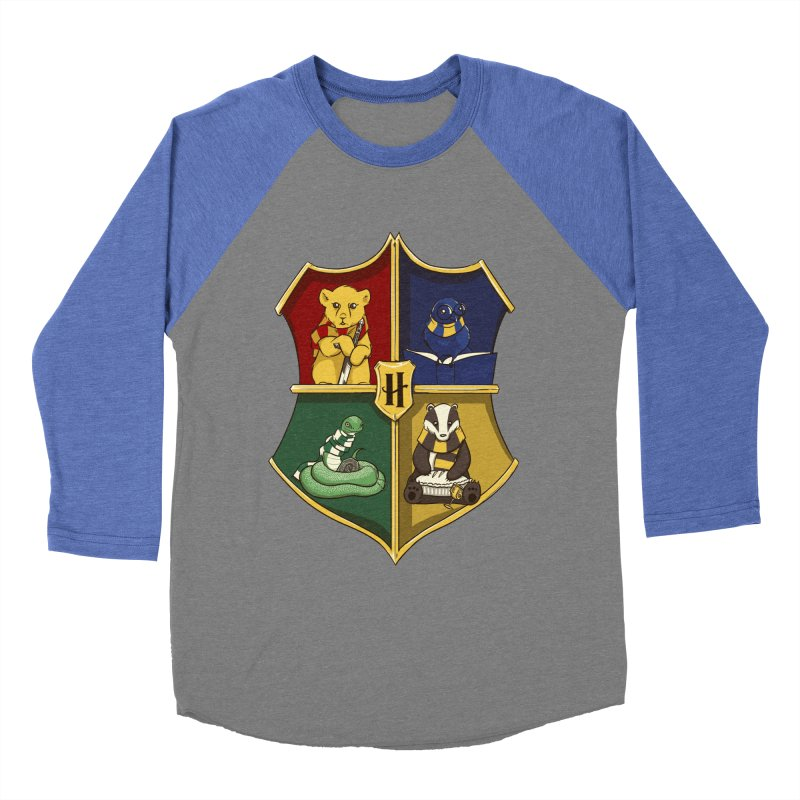Magical Crest Men's Baseball Triblend T-Shirt by Stuff, By Alan Bao