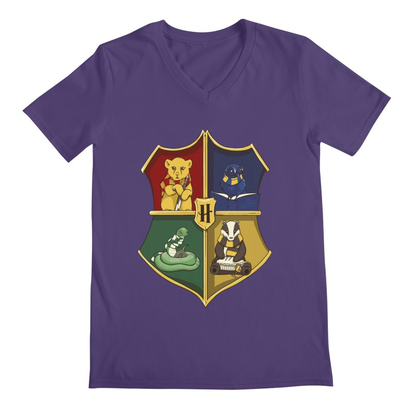 Magical Crest Men's V-Neck by Stuff, By Alan Bao