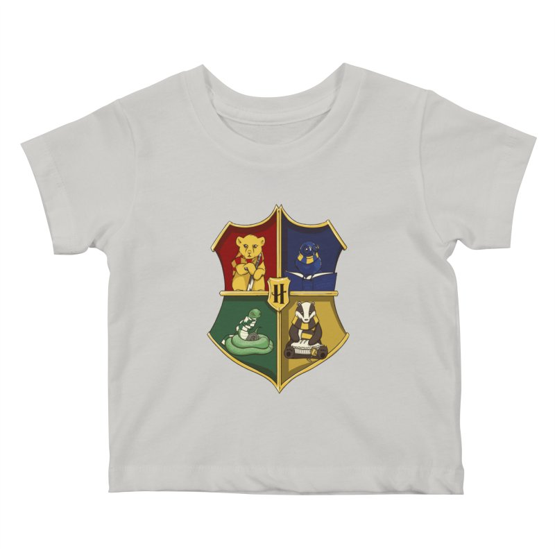 Magical Crest Kids Baby T-Shirt by Stuff, By Alan Bao