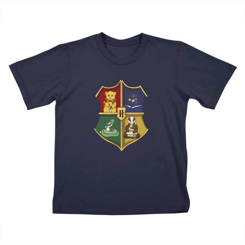 Magical Crest Kids T-shirt by Stuff, By Alan Bao