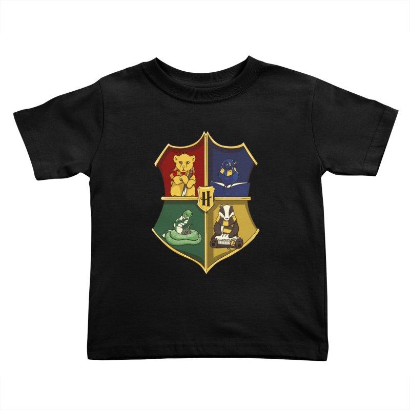Magical Crest Kids Toddler T-Shirt by Stuff, By Alan Bao