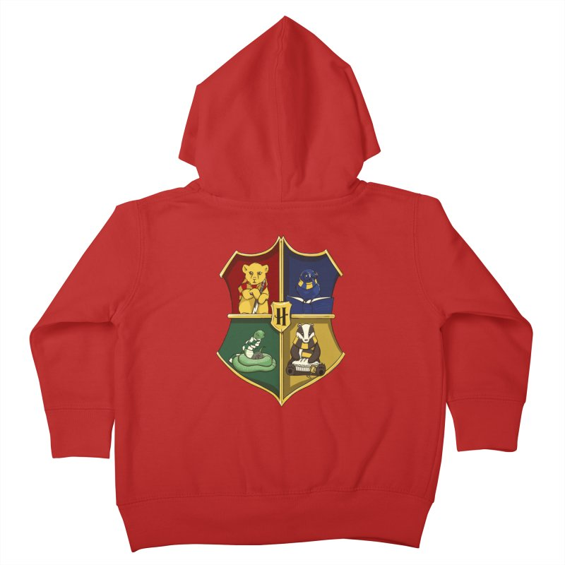 Magical Crest Kids Toddler Zip-Up Hoody by Stuff, By Alan Bao