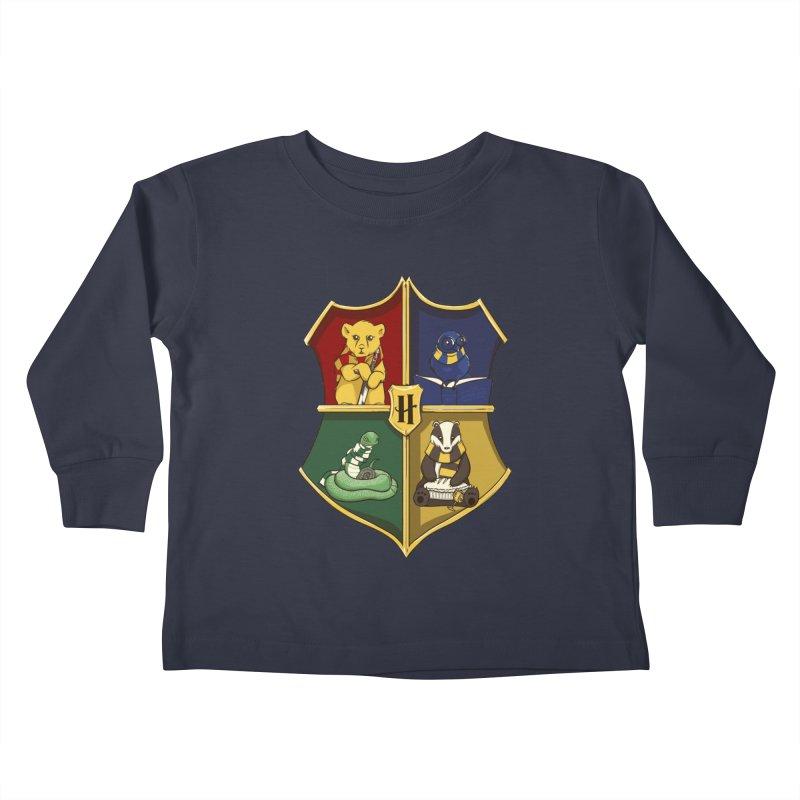 Magical Crest Kids Toddler Longsleeve T-Shirt by Stuff, By Alan Bao